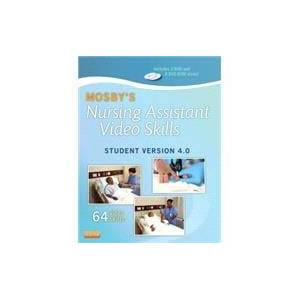 Mosby Inc Mosby's Nursing Assistant Video Skills