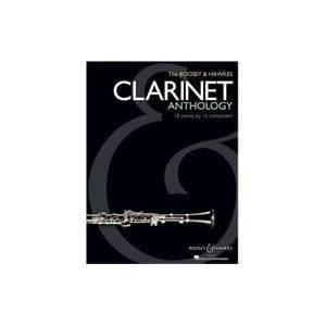 Hal Leonard Corp The Boosey & Hawkes Clarinet Anthology: 18 Pieces by 16 Composers