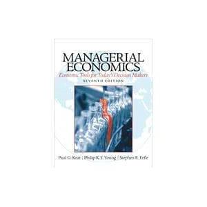 Pearson Managerial Economics