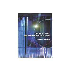 Pearson Linear Algebra and Differential Equations