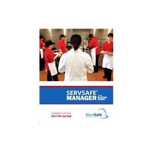 PEARSON ServSafe Answer Sheet for Coursebook and Manager