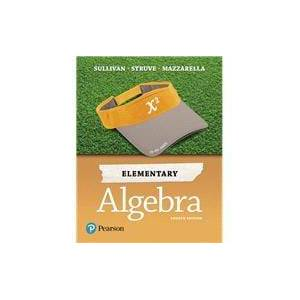 Pearson Elementary Algebra