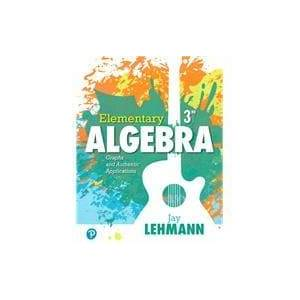Pearson Elementary Algebra Graphs and Authentic Applications