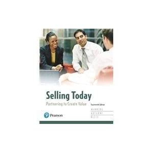 Pearson Selling Today Partnering to Create Value