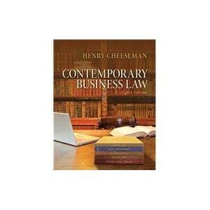 Pearson Contemporary Business Law