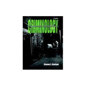 Pearson Criminology A Sociological Understanding