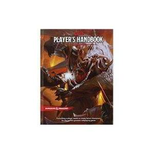 Wizards of the Coast Dungeons & Dragons Player's Handbook (Core Rulebook 1 of 3 for the D&D Roleplaying Game)