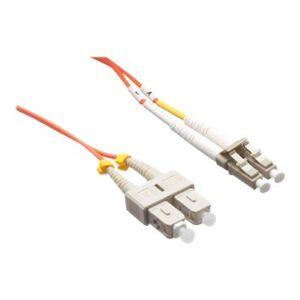 Axiom Memory AXG96895 LC-SC Multimode Duplex OM2 50/125 Fiber Optic Cable - 70m - Orange - Network cable - LC multi-mode (M) to SC multi-mode (M) - 70