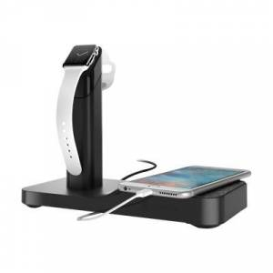 Griffin GC41633 WatchStand Powered - Charging station - Australia  United Kingdom  United States  European Union - for Apple Watch