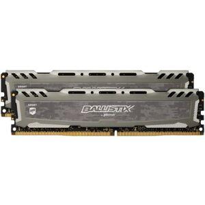 Crucial BLS2K8G4D240FSBK Ballistix Sport LT - DDR4 - 16 GB: 2 x 8 GB - DIMM 288-pin - 2400 MHz / PC4-19200 - CL16 - 1.2 V - unbuffered - non-ECC