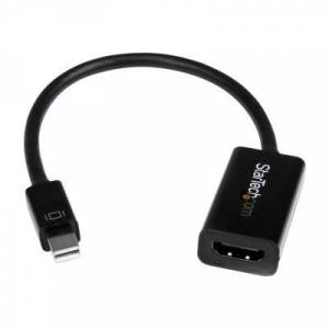 StarTech.com MDP2HD4KS Mini DisplayPort to HDMI Video Converter - mDP 1.2 to HDMI Active Adapter for UltraBook / Laptop  - 4K @ 30Hz - Black