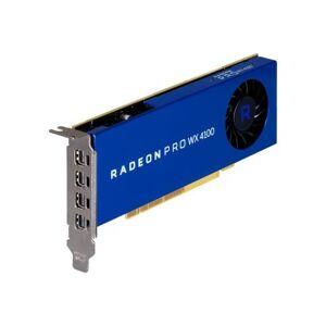 AMD 100-506008 Radeon Pro WX4100 - Graphics card - Radeon Pro WX 4100 - 4 GB GDDR5 - PCIe 3.0 x16 - 4 x Mini DisplayPort