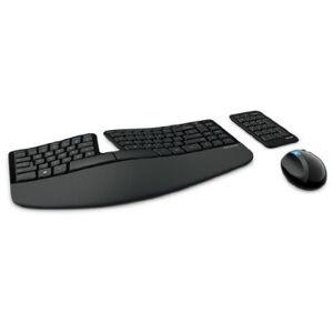 Microsoft L5V-00001 Sculpt Ergonomic Desktop - Keyboard  Mouse and Numeric Pad Set