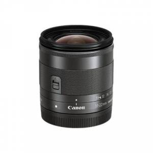 Canon 7568B002 EF-M - Wide-angle zoom lens - 11 mm - 22 mm - f/4.0-5.6 IS STM -  EF-M - for EOS Kiss M  M5  M50  M6