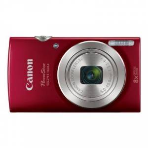 Canon 1096C001 PowerShot ELPH 180 - Digital camera - compact - 20.0 MP - 720p / 25 fps - 8x optical zoom - red