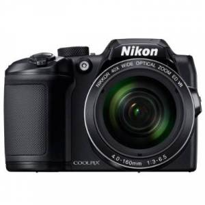 Nikon 26506 COOLPIX B500 - 40x Optical Zoom/80x Dynamic Fine Zoom Super Telephoto NIKKOR ED Glass Lens with Built-in Wi-Fi  NFC and Bluetooth - Black