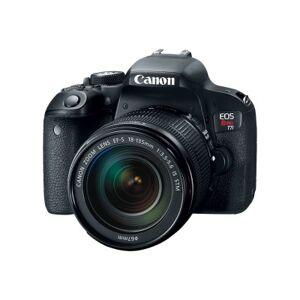 Canon 1894C002 EOS Rebel T7i - Digital camera - SLR - 24.2 MP - APS-C - 3x optical zoom EF-S 18-55mm IS STM lens - Wi-Fi  NFC  Bluetooth