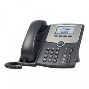 Cisco SPA502G Small Business SPA 502G - VoIP phone - SIP  SIP v2  SPCP - single-line - silver  dark gray - for Small Business Pro Unified Communicatio