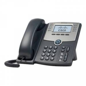 Cisco Systems SPA508G Small Business SPA 508G - VoIP phone - SIP  SIP v2  SPCP - multiline - silver  dark gray - for Small Business Pro Unified Communications