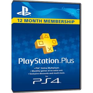Sony Playstation PLUS - PSN PLUS Card - 365 days - UK