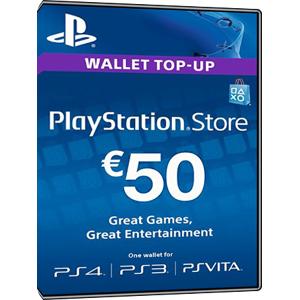 Sony Playstation Network Card 50 Euro [FR]
