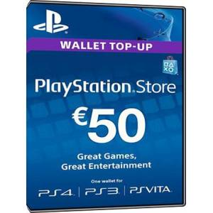 Sony Playstation Network Card 50 Euro [BE]