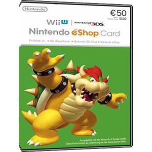 Nintendo eShop Card - 50 Euro