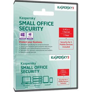 Kaspersky Lab Kaspersky Small Office Security 4 (5 users, 1 year)
