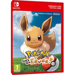 Nintendo Pokemon Let's Go Eevee - Nintendo Switch Download Code