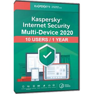 Kaspersky Internet Security Multi-Device 2020 (10 Users / 1 Year)