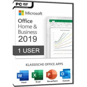 Microsoft Office 2019 Home & Business PC (1 User)
