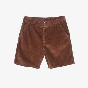 SNS Cord Shorts  - Brown - Size: 2X-Large