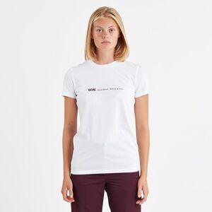 Wood Wood Eden T-shirt  - White - Size: Wm