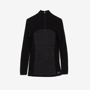 adidas w Ch1 Reflective Knit Sweater  - Black - Size: Wm