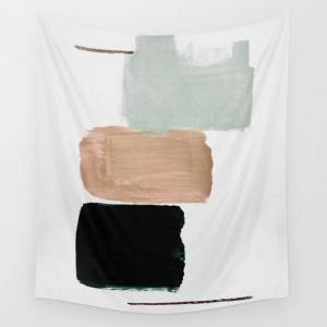 """Society6 Minimalism 15 Wall Hanging Tapestry by Iris Lehnhardt - Small: 51"""" x 60"""""""