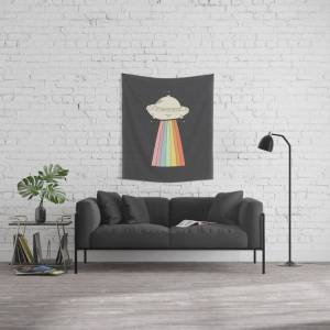 """Society6 U.f.ow Wall Hanging Tapestry by Zoe Studio - Small: 51"""" x 60"""""""