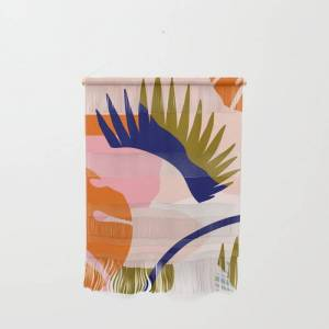 """Society6 Tropical Island Ii Wall Hanging by Grace - Small 11 1/4"""" x 15 1/2"""""""