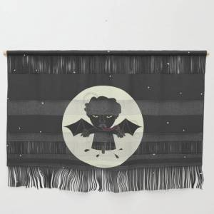 """Society6 Akin Na Ang Baby Mo (philippine Mythological Creatures Series) Wall Hanging by Lalaine Lim - Small 23 1/4"""" x 15 3/4"""""""