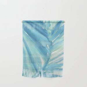 """Society6 Abstract Palm Leaf Wall Hanging by Melinda Alice Kierre - Small 11 1/4"""" x 15 1/2"""""""