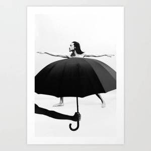 Society6 Dressed For The Occasion Art Print by Aaron Ricketts - SMALL