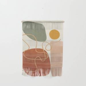 """Society6 Geometry Abstract 2 Wall Hanging by Flow Line - Small 11 1/4"""" x 15 1/2"""""""