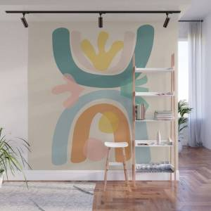 Society6 Just Before Summer Wall Mural by Urban Wild Studio Supply - 8' X 8'