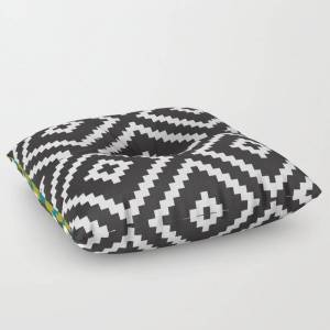 "Society6 Ikea Lappljung Ruta Inverse Floor Pillow by Dizzy Moments - SQUARE - 26"" x 26"""