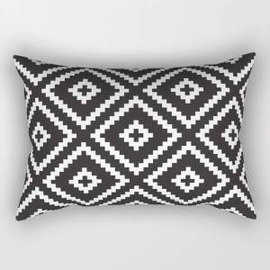 """Society6 Ikea Lappljung Ruta Inverse Rectangular Pillow by Dizzy Moments - Large (25.5"""" x 18"""")"""