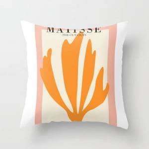 """Society6 Henri Matisse The Cut Outs Contemporary, Modern Minimal Art Couch Throw Pillow by Mini Mons - Cover (16"""" x 16"""") with pillow insert - Indoor Pillow"""