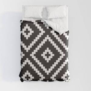 """Society6 Ikea Lappljung Ruta Inverse Duvet Cover by Dizzy Moments - Full: 79"""" x 79"""" - Microfiber Polyester"""