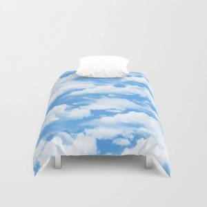 "Society6 Sky's The Limit. Duvet Cover by H.n.c - Twin: 68"" x 88"""