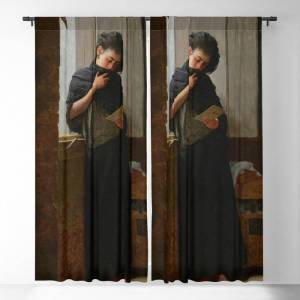 "Society6 Longing (saudade) By Almeida Junior Blackout Window Curtains & Drapes by Elegant Chaos Gallery - 50"" x 84"" - Set of Two"