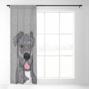 """Society6 Junior Blackout Window Curtains & Drapes by Artlovepassion - 50"""" x 84"""" - Single"""