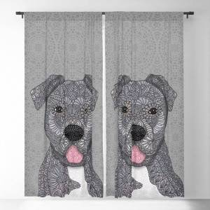 """Society6 Junior Blackout Window Curtains & Drapes by Artlovepassion - 50"""" x 84"""" - Set of Two"""